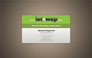letswap Business Card